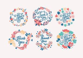 Obrigado Typography Vol 3 Vector