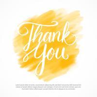 Obrigado Lettering Vector