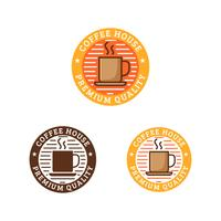 Logotipo da Cafeteria vetor
