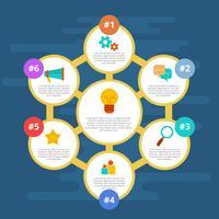 Vector de Infografia de Negócios