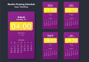 IU da aplicação Prayer