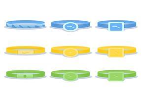 Use o vetor do bracelete