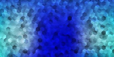 pano de fundo vector azul claro com formas caóticas.