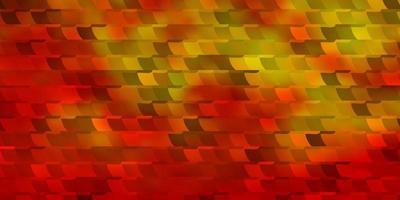 de fundo vector laranja claro em estilo poligonal.