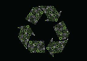 Biodegradável vetor