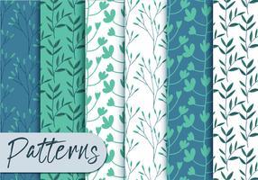 Soft Blue Pattern Set