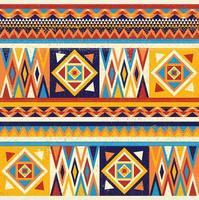 design têxtil colorido africano. desenho de estampa em tecido kente, cultura africana