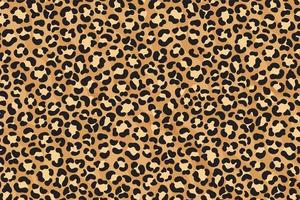 design de impressão de leopardo. pele de chita. Estampa de animal. vetor