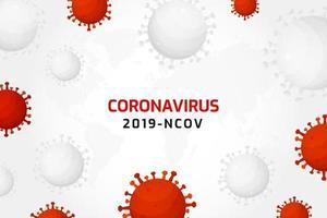 infecção por vírus ou fundo de células de bactérias vetor