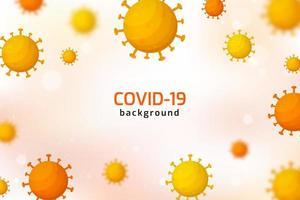 infecção por vírus ou fundo de células de bactérias. vetor
