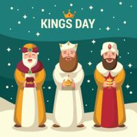 Ilustração do Reis Dia vetor