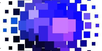 textura vector rosa claro, azul em estilo retangular.