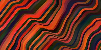 padrão de vetor vermelho escuro com linhas irônicas.