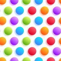 círculo colorido realista com padrão de sombra uniforme