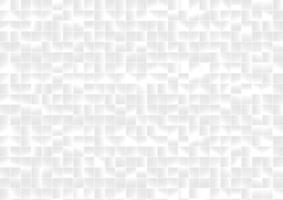 fundo e textura de pixels de grade quadrada de padrão abstrato branco e cinza. vetor