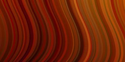 pano de fundo laranja escuro do vetor com arco circular.
