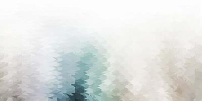 textura de triângulo poli de vetor cinza claro.