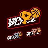 conjunto de competição de basquete