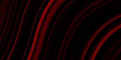pano de fundo vector vermelho escuro com linhas dobradas.