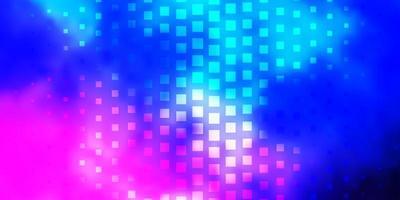 fundo vector rosa claro, azul com retângulos.