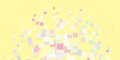 luz de fundo vector multicolor em estilo poligonal.