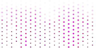 modelo de vetor rosa claro com círculos.