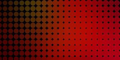 fundo vector verde escuro e vermelho com círculos.