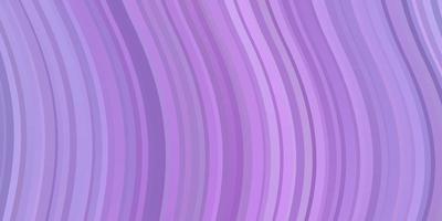 textura vector roxo claro com linhas irônicas.