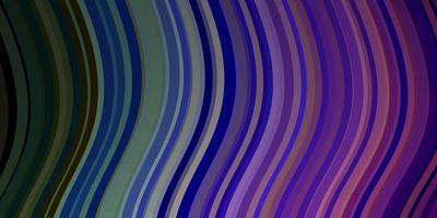 luz padrão multicolorido de vetor com linhas.
