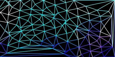 papel de parede de mosaico de triângulo de vetor rosa claro
