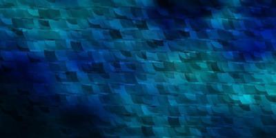 padrão de vetor azul escuro com estilo poligonal.