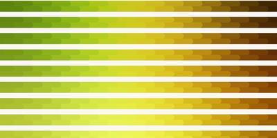 modelo de vetor verde e vermelho claro com linhas.
