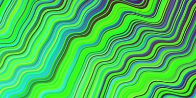pano de fundo escuro multicolorido com linhas dobradas.
