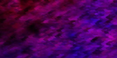 padrão de vetor roxo claro em estilo quadrado.