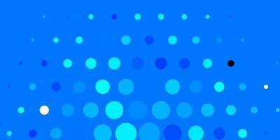 layout de vetor de azul escuro com formas de círculo.