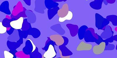 textura vector azul claro e vermelho com formas de memphis.