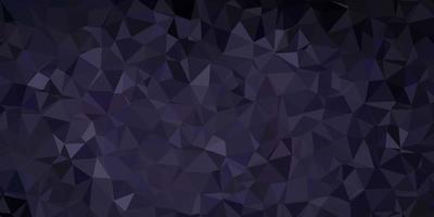 layout de triângulo poli de vetor cinza escuro.