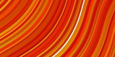 luz vermelha, amarelo padrão de vetor com curvas.