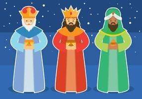Ilustração do vetor do dia do rei