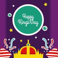 Ilustração do vetor do dia dos reis