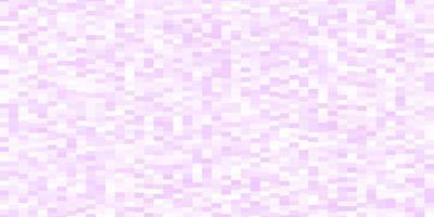 textura vector roxo claro em estilo retangular.