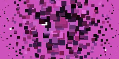 padrão de vetor rosa claro em estilo quadrado.