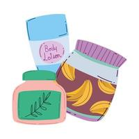 maquiagem cosméticos moda beleza loção corporal cremes para cuidados da pele vetor