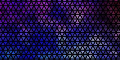 textura leve vetor multicolor com estilo triangular.