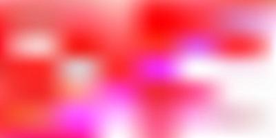 modelo de borrão abstrato de vetor vermelho claro.