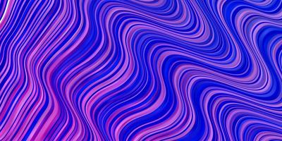 pano de fundo vector roxo, rosa claro com linhas dobradas.