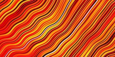 fundo vector laranja claro com linhas dobradas.
