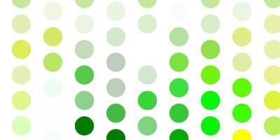 fundo vector verde e amarelo claro com manchas.