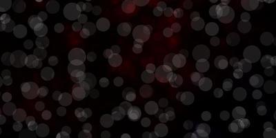 modelo de vetor vermelho escuro com círculos.