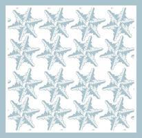 padrão sem emenda de vetor com flocos de neve em fundo branco.
